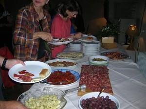 Villa Grande food