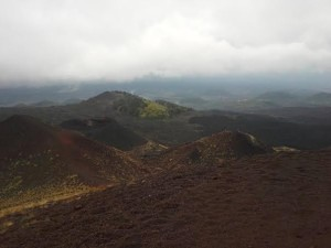 Mt Etna craters