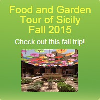 Food and Garden Tour of Sicily, Fall, 2015