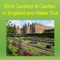 2016 Gardens & Castles of England and Wales Tour
